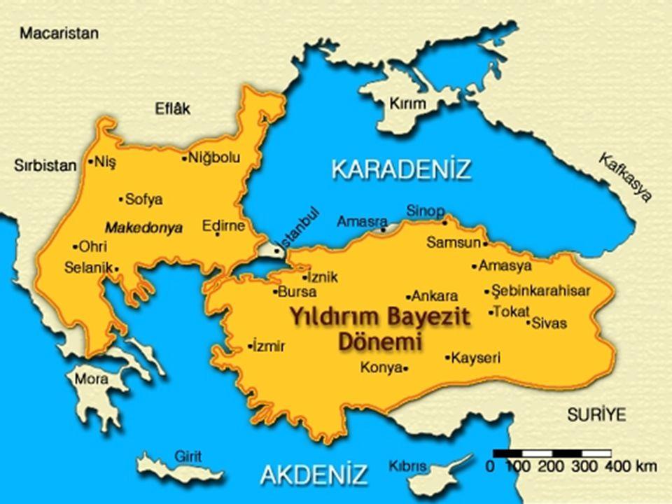 I. Murad Dönemi (1359/1362 -1389) Süleyman Pa ş anın ölümüyle tahtın varisi oldu. Ankara'yı geri aldı. Edirne'yi fethetti (1362). 1363 Filibe'nin feth
