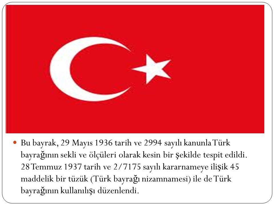 Sultan birinci Abdülmecit Han zamanında, 1842 ′ de yıldızın be ş kö ş eli olması kararla ş tırıldı ve Osmanlı bayra ğ ının ş ekli bu hali aldı.
