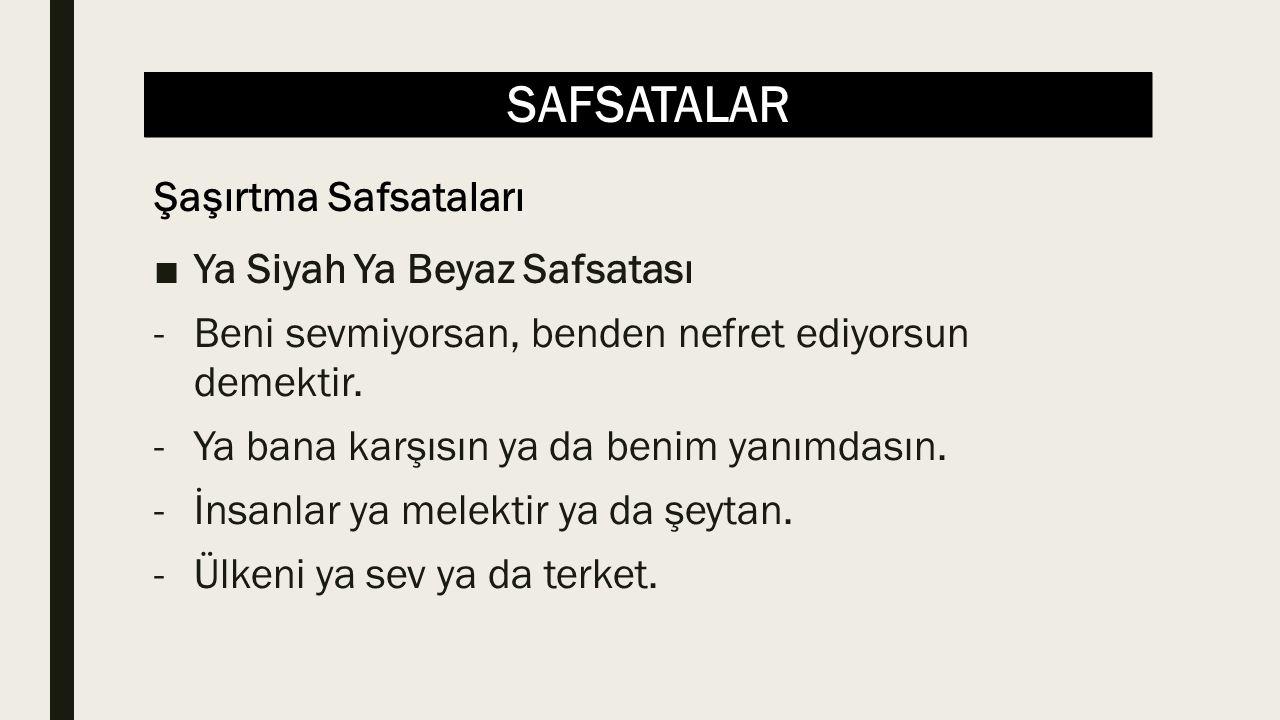 SAFSATALAR ■İspatlama Mecburiyeti Safsatası -Allah'ın varlığı kimse tarafından kanıtlanmamıştır.