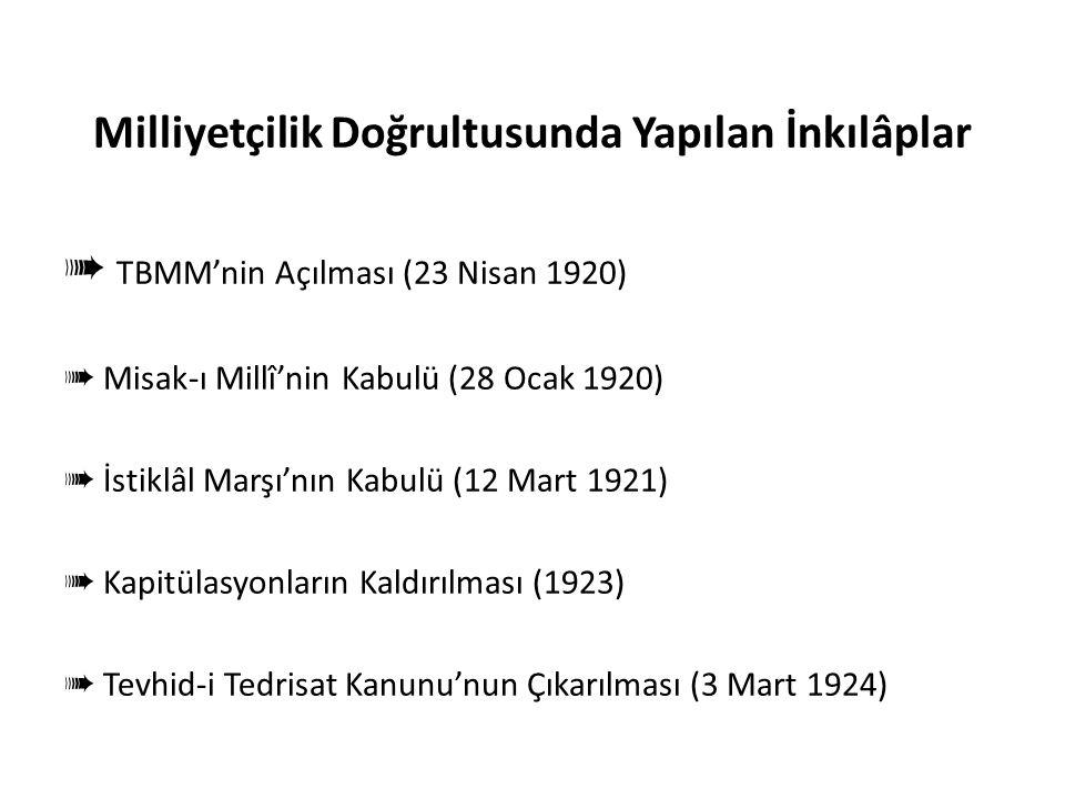 Milliyetçilik ile İlgili Anahtar Kelimeler Ulusal (Millî) bağımsızlık Ulusal (Millî) bilinç Türk–Türklük–Türkçecilik Millî birlik ve beraberlik Millî