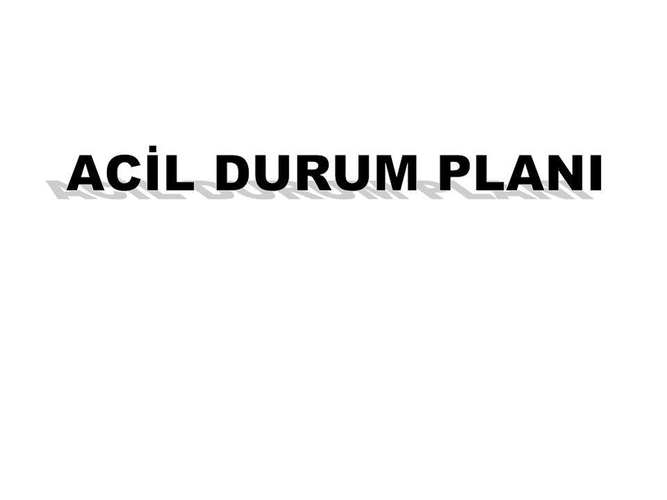 Planlama Prosesindeki Dört Adım Adım 1:Bir planlama takımının kurulması Adım 2:Tehlikelerin, imkan ve kabiliyetlerin analizi Adım 3:Bir acil durum eylem planının geliştirilmesi Adım 4:Acil durum eylem planının hayata geçirilmesi 41
