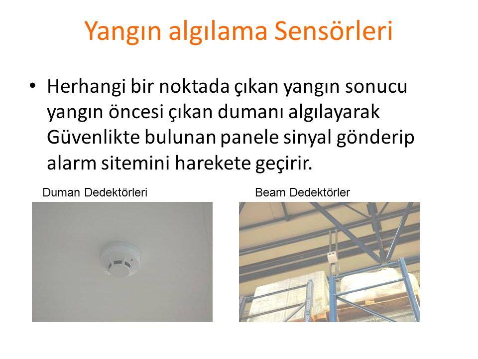 Yangın Algılama Sistemi Tüm fabrika içine monte edilmiş olan Yangın algılama sensörleri; Duman dedektörleri Beam dedektörler Isı dedektörleri Acil durum butonları vasıtasıyla yangının çıkış aşamasında noktasal olarak tespitini sağlayan sistem