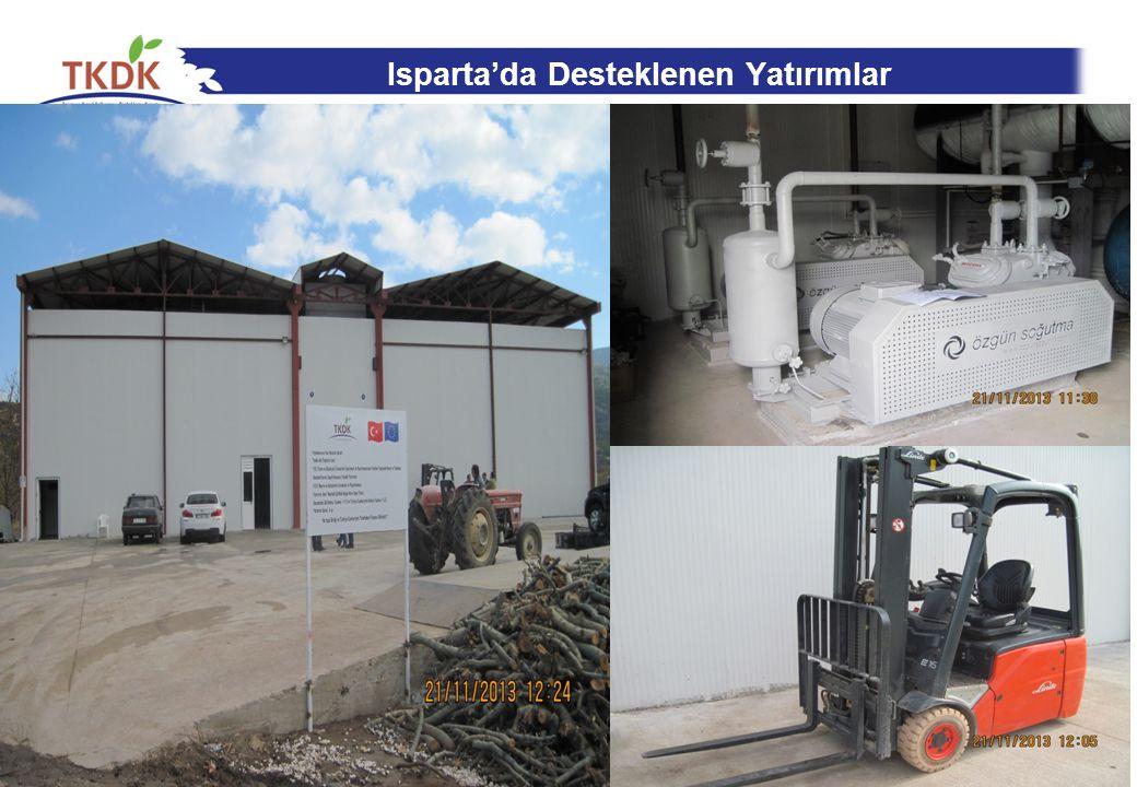 Isparta'da Desteklenen Yatırımlar 22