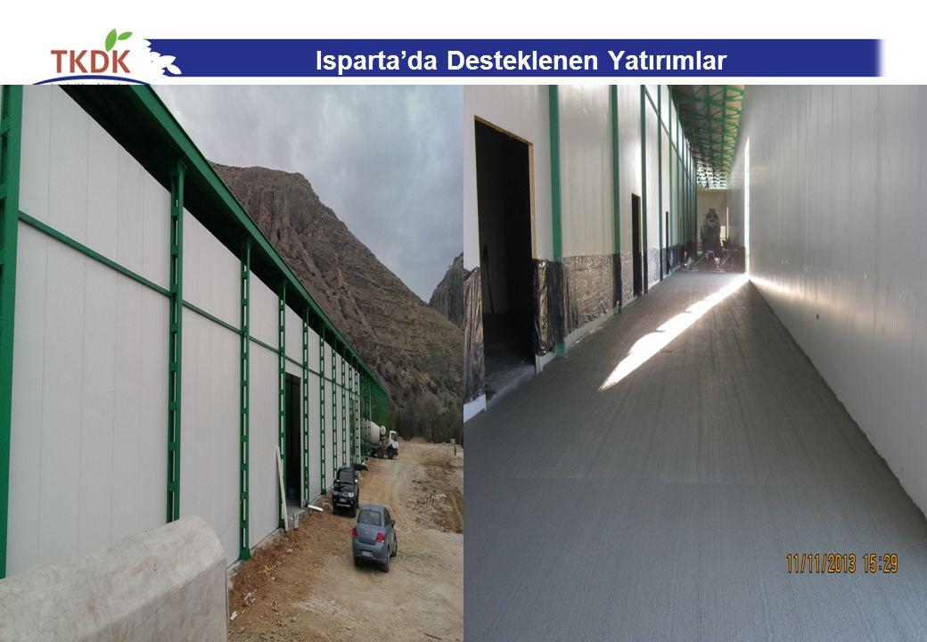 Isparta'da Desteklenen Yatırımlar 24