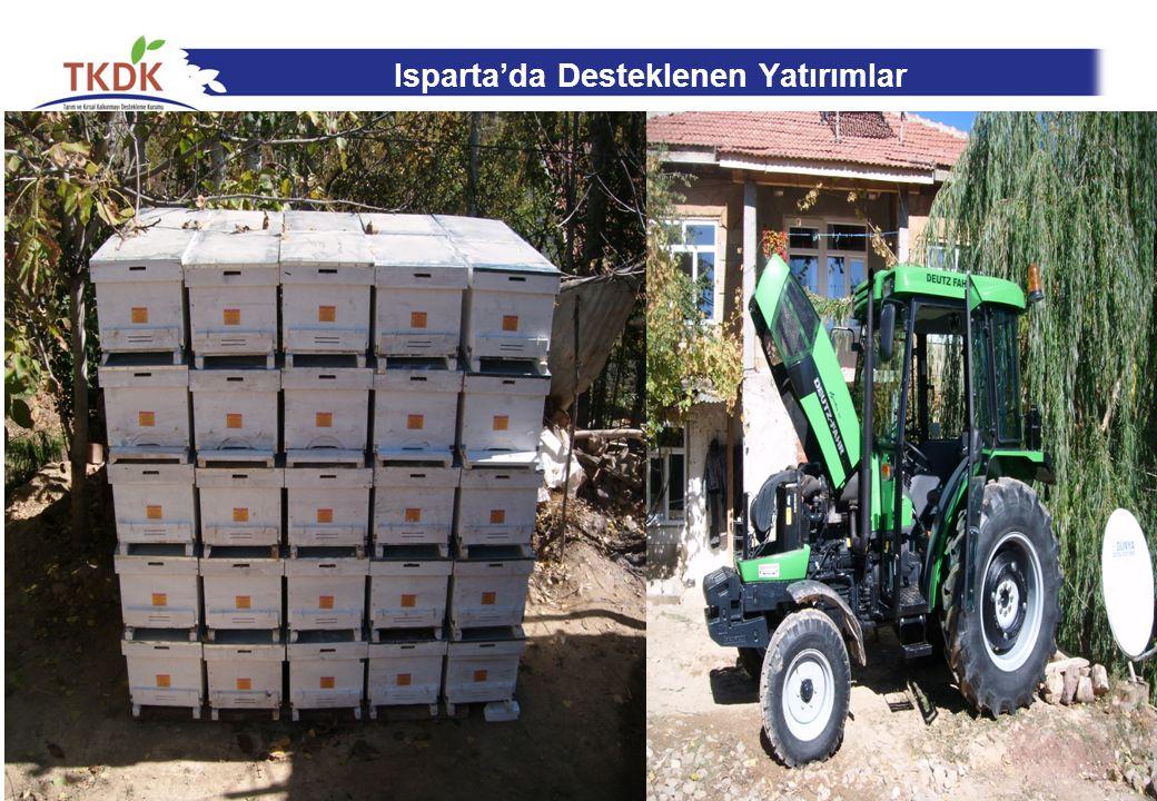 Isparta'da Desteklenen Yatırımlar 25