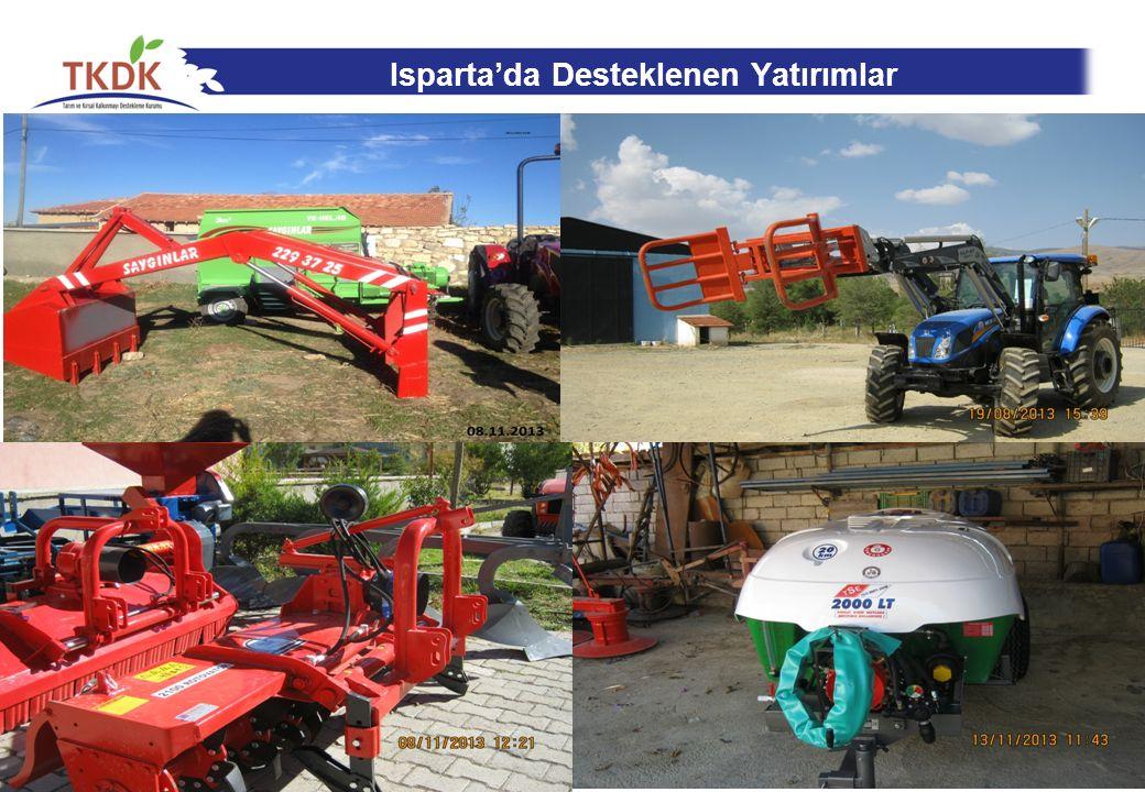 Isparta'da Desteklenen Yatırımlar 26