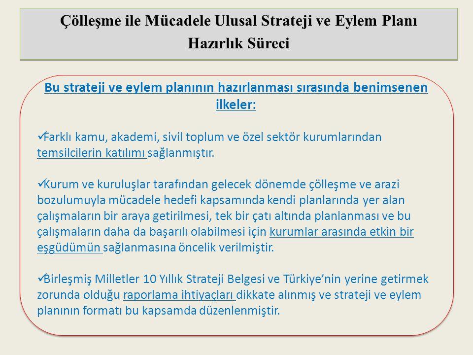 Çölleşme ile Mücadele Ulusal Strateji ve Eylem Planı Hazırlık Süreci Çölleşme ile Mücadele Ulusal Strateji ve Eylem Planı Hazırlık Süreci Bu strateji