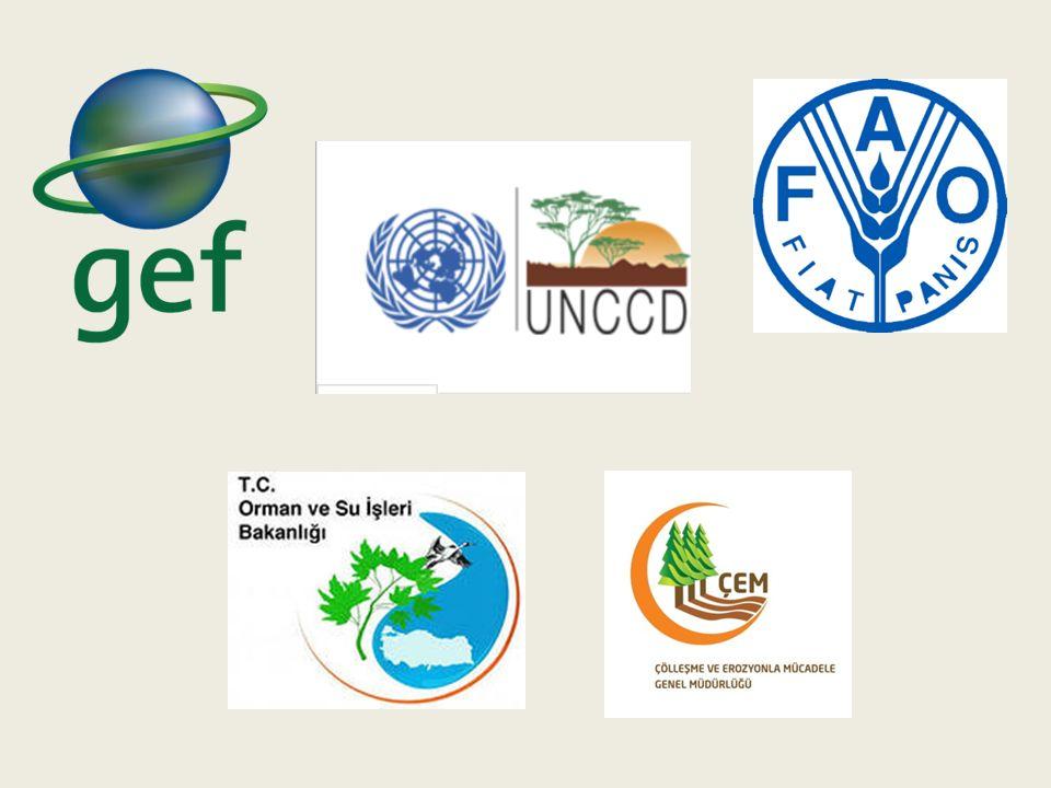 Proje Yönetimi Çölleşme ile Mücadele Ulusal Koordinasyon Birimi FAOSEC- Ekrem Yazıcı Danışmanlar Ekip Lideri- Bahtiyar Kurt Doğal Kaynak Yönetimi Danışmanı- Muzaffer Doğru İzleme Değerlendirme Raporlama Danışmanı- Cemil Ün RİO Sözleşmeleri Danışmanı- Prof.