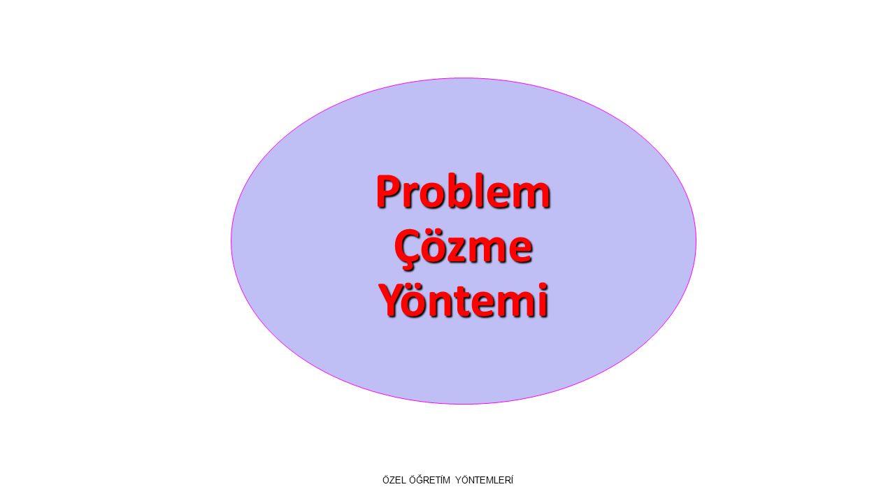 Problem Çözme Yöntemi ÖZEL ÖĞRETİM YÖNTEMLERİ