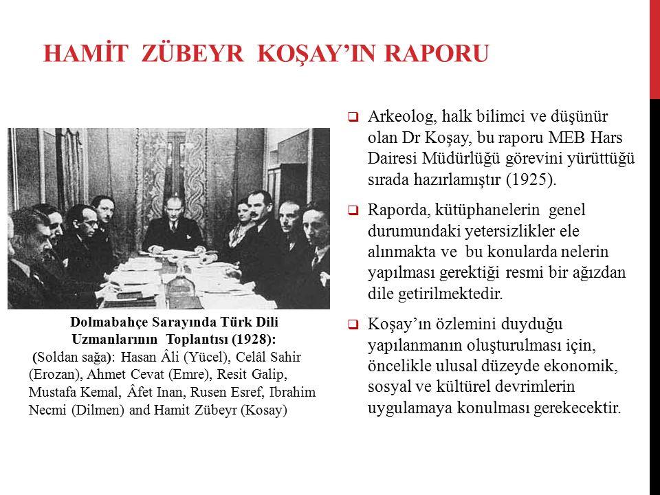  Arkeolog, halk bilimci ve düşünür olan Dr Koşay, bu raporu MEB Hars Dairesi Müdürlüğü görevini yürüttüğü sırada hazırlamıştır (1925).