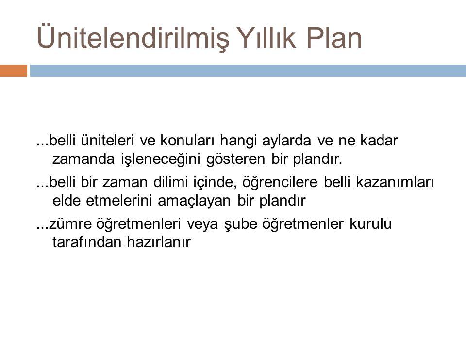 En iyi plan en iyi uygulanabilen plandır...