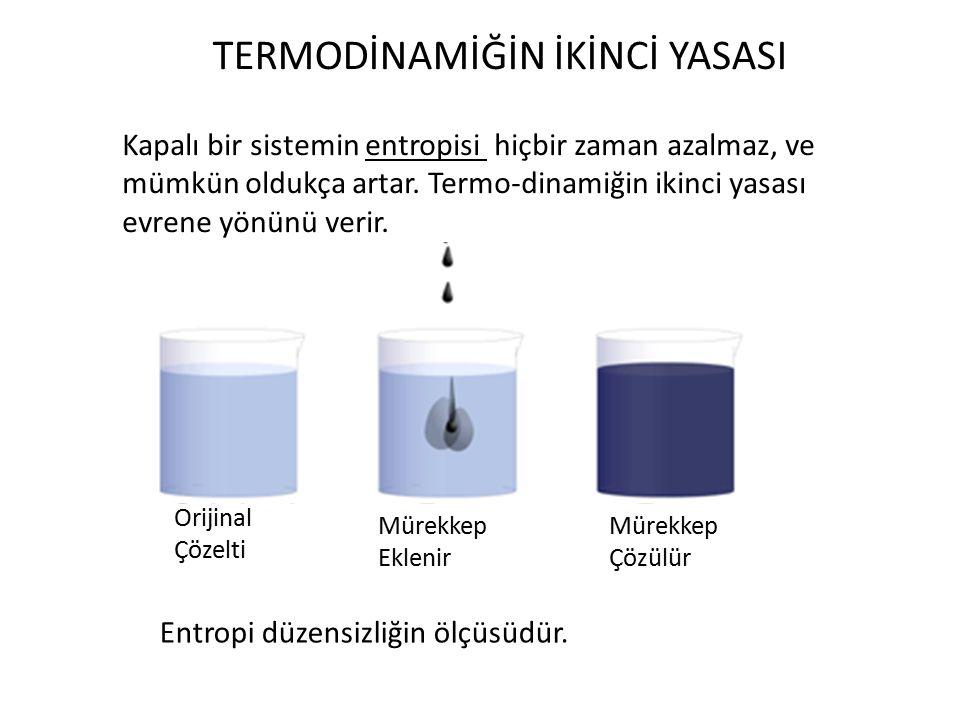 Saf Maddelerin Özellikleri e: Birim kütle başına depolanan enerji Entalpinin tanımı Sabit hacimdeki ısı kapasitesi Sabit basınçtaki ısı kapasitesi Maddenin durumu ile ilgili üç değişkenden ikisi bilinirse diğer üçüncüsü hesaplanabilir.