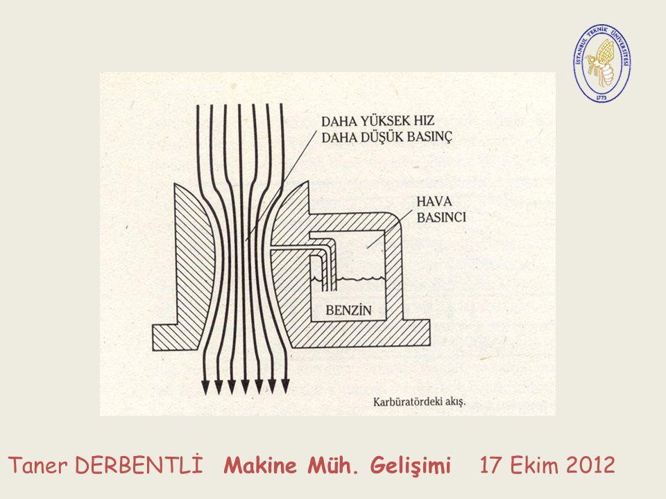 Taner DERBENTLİ Makine Müh. Gelişimi 17 Ekim 2012