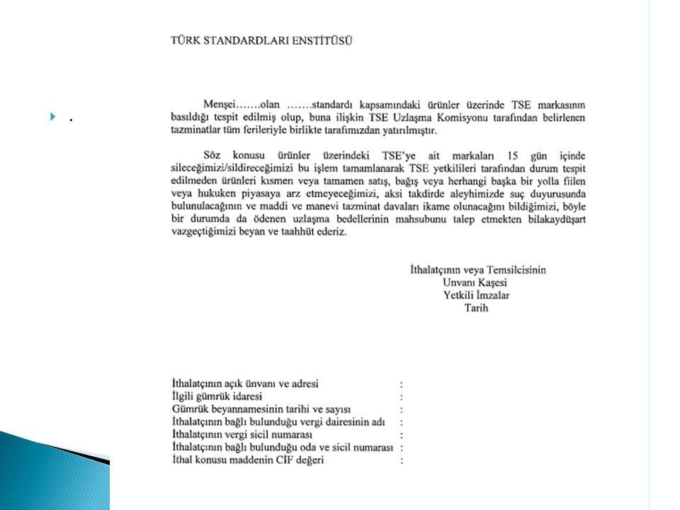 Ek-12 Taahhütname (Haksız Marka) ..