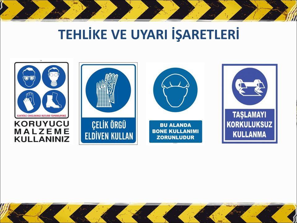 TEMİZLİK MALZEMELERİ VE KİMYASALLAR Temizlik malzemelerinin ambalajları açılmamalı ve hasar görmemesine dikkat edilmelidir.