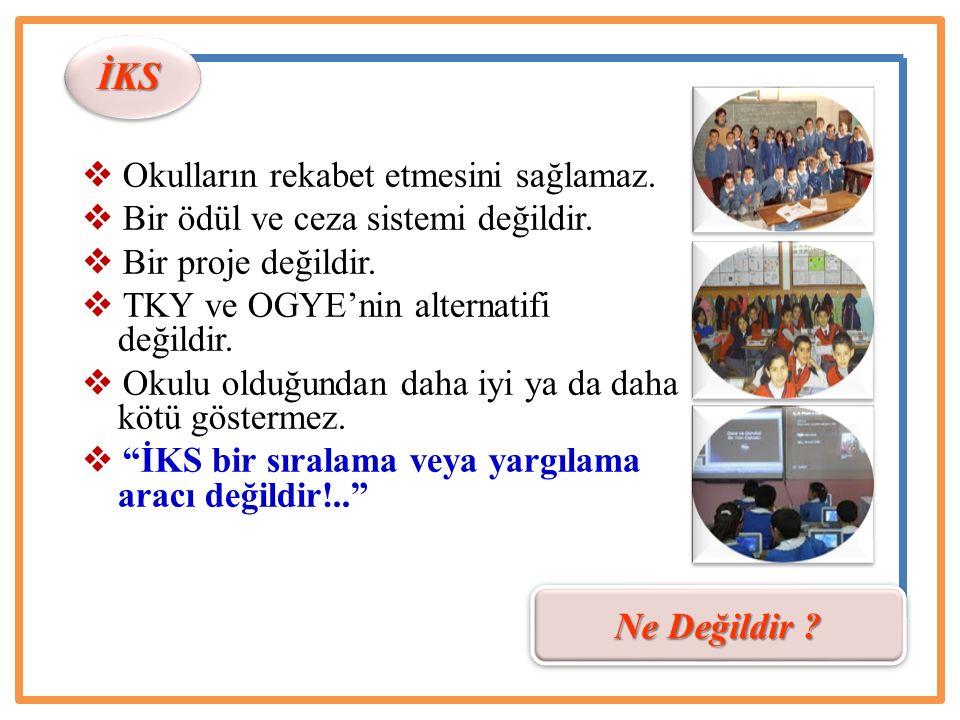 İ lköğretim K urumları S tandartları K im N e N için N asıl N erede N e Zaman Mevcut durum girdileri ve okulla ilgili algılarını...
