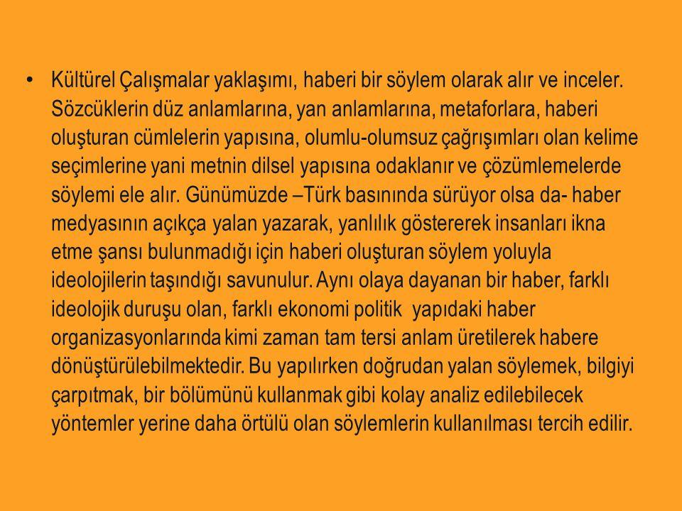 Sonuç olarak Türk basınının son dönemdeki, özellikle 80'li yıllardan bu yana artarak süren yapısal dönüşümü iletişim kuramları açısından kolaylıkla açıklanabilen bir yapıdır.