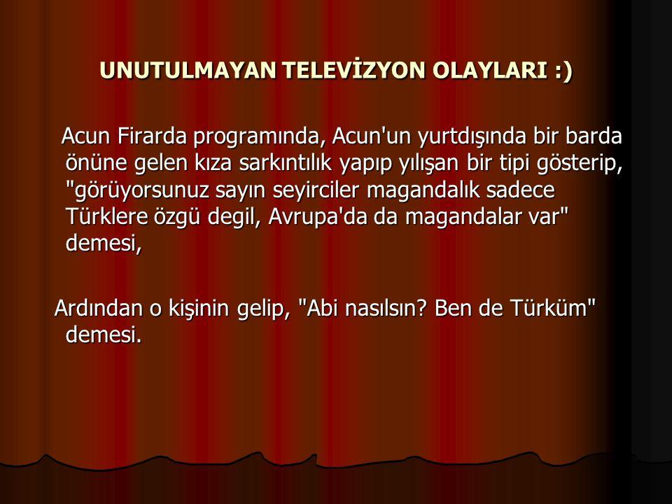 UNUTULMAYAN TELEVİZYON OLAYLARI :) Mustafa Denizli'nin Atv de Bizim Stadyumu sunduğu dönemde hakemliği yeni bırakan Erman Toroğlu'nu anons ederken Mus