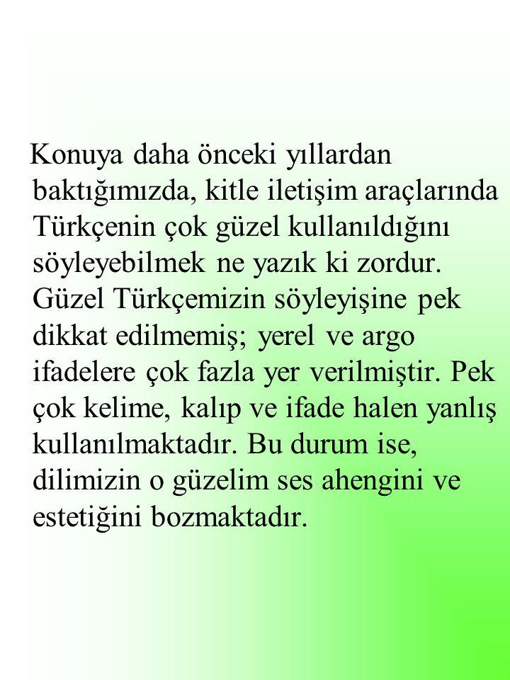 Efendim, birazdan Ankara'ya Gölbaşı'ya bağlanacağız. STV,08.01.2009 SON DURUM PROG.