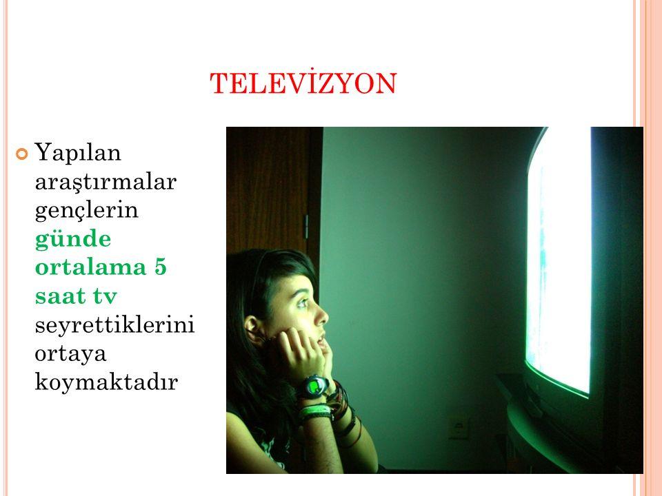 T ELEV İ ZYONUN D ERSLERE Y ÖNEL İ K E TK İ S İ Aşırı televizyon seyreden çocuklarda uyku düzensizliği meydana gelir ve derslere kendilerini veremezler Televizyon izlemekten derslere yeteri kadar zaman ayıramazlar.