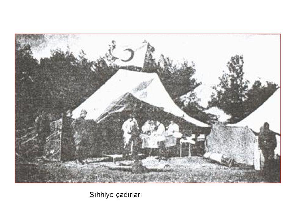 Sıhhiye çadırları