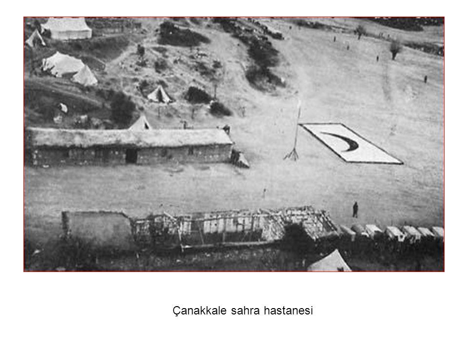 Çanakkale sahra hastanesi