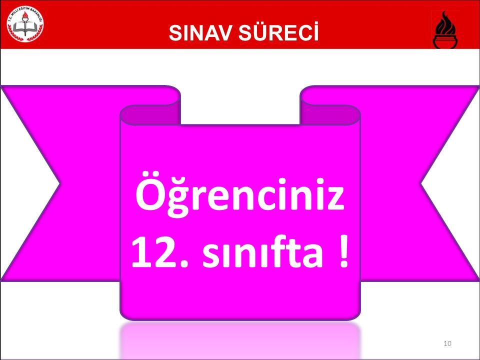 SINAV SÜRECİ 10