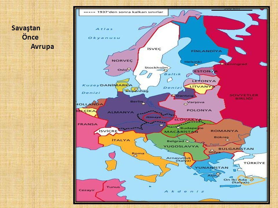Savaştan Önce Avrupa