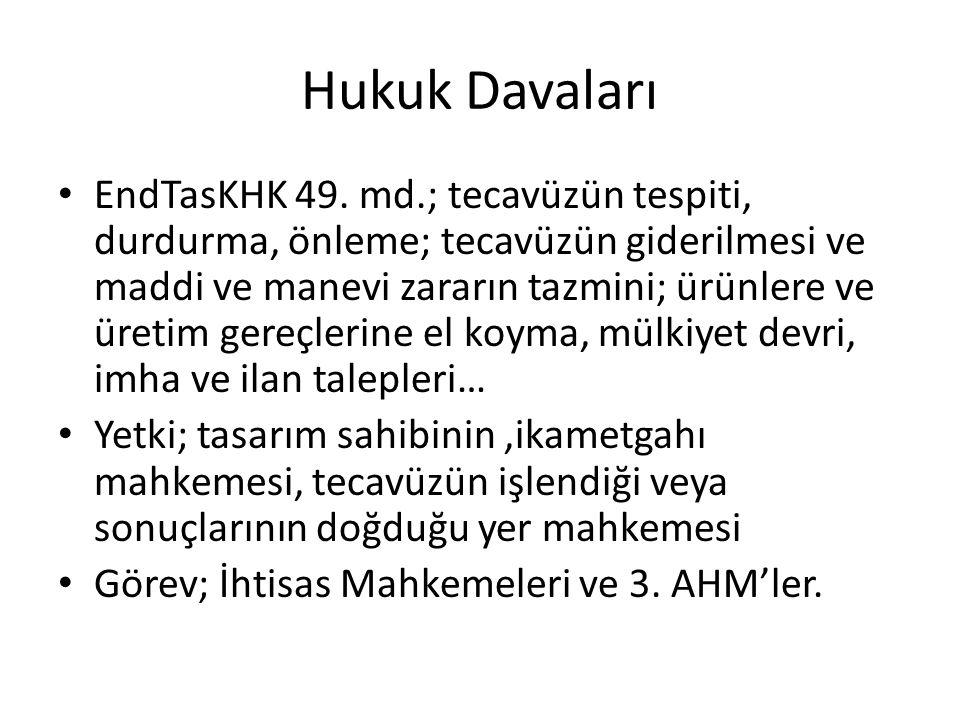 Hukuk Davaları EndTasKHK 49.