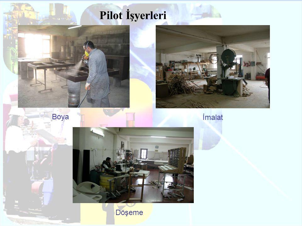 Boya İmalat Döşeme Pilot İşyerleri