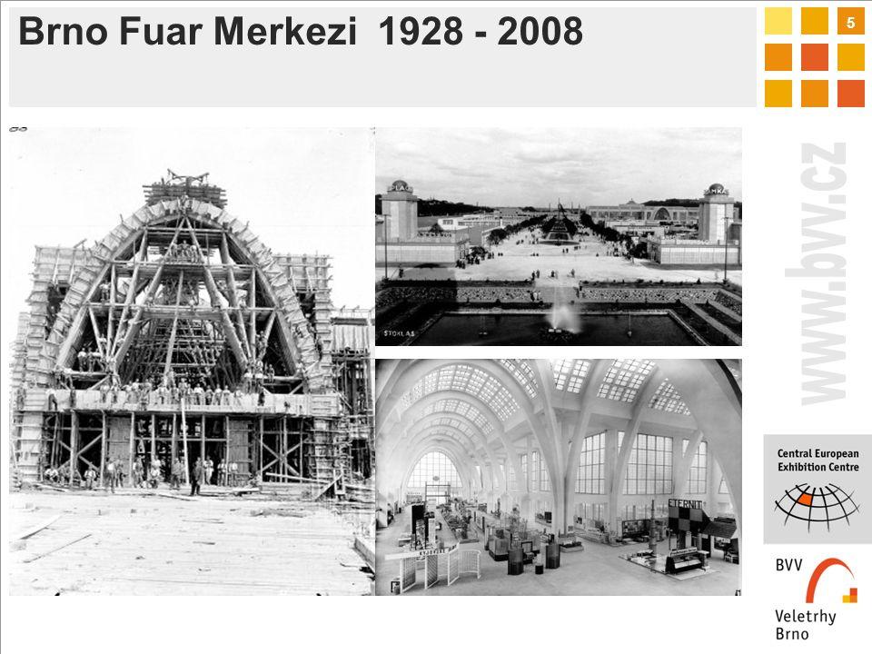 5 Brno Fuar Merkezi 1928 - 2008