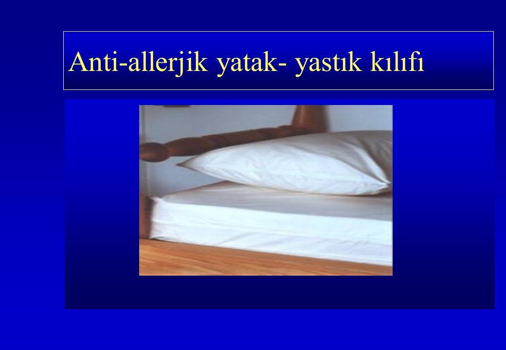 Anti-allerjik yatak- yastık kılıfı