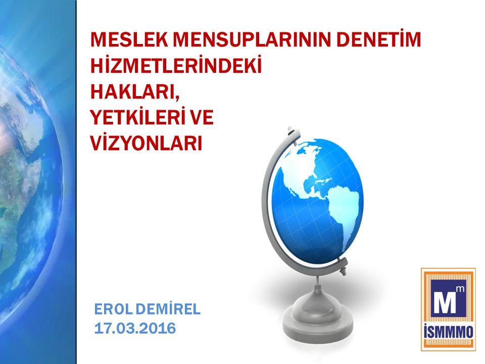 İÇERİK Haklar ve Yetkiler Meslek Mensuplarının Vizyonunu Belirleyecek Gelişmeler Kurumsallaşma Hizmet Kalitesi Meslek Kararı 4 3 2 1