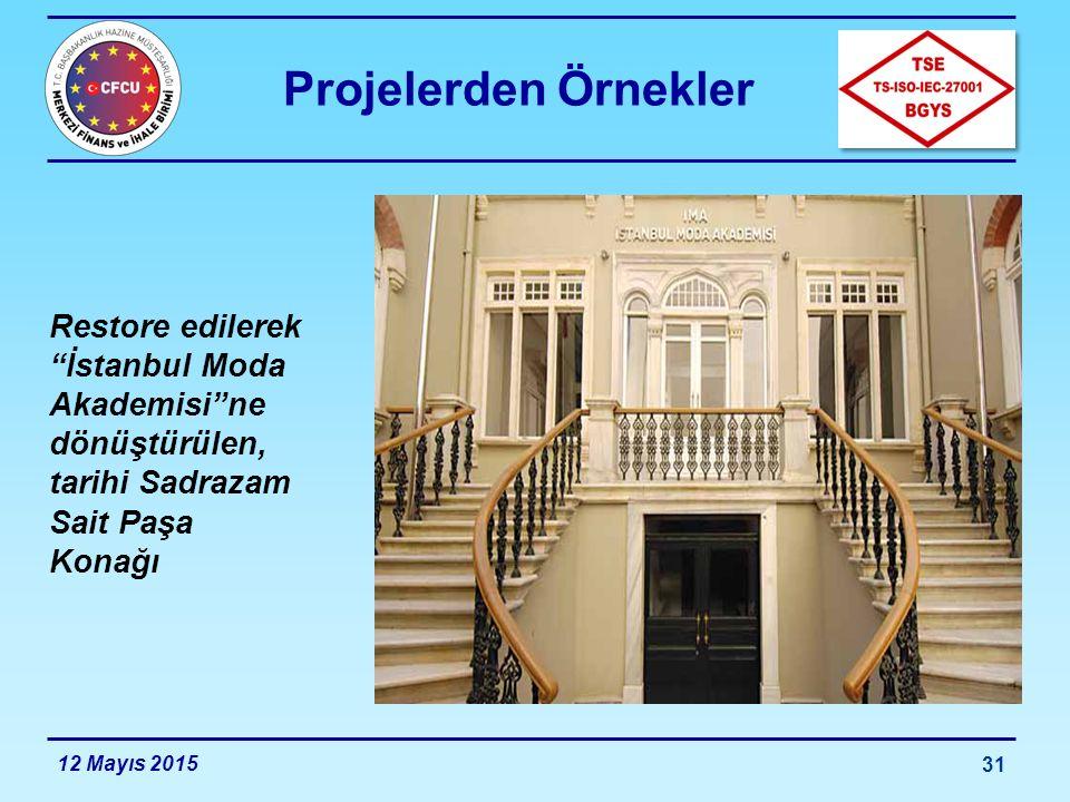 Projelerden Örnekler 12 Mayıs 2015 32 Van, Hakkari, Bitlis ve Muş illerinde kullanılmak üzere tedarik edilen «Gezici Sağlık Üniteleri»