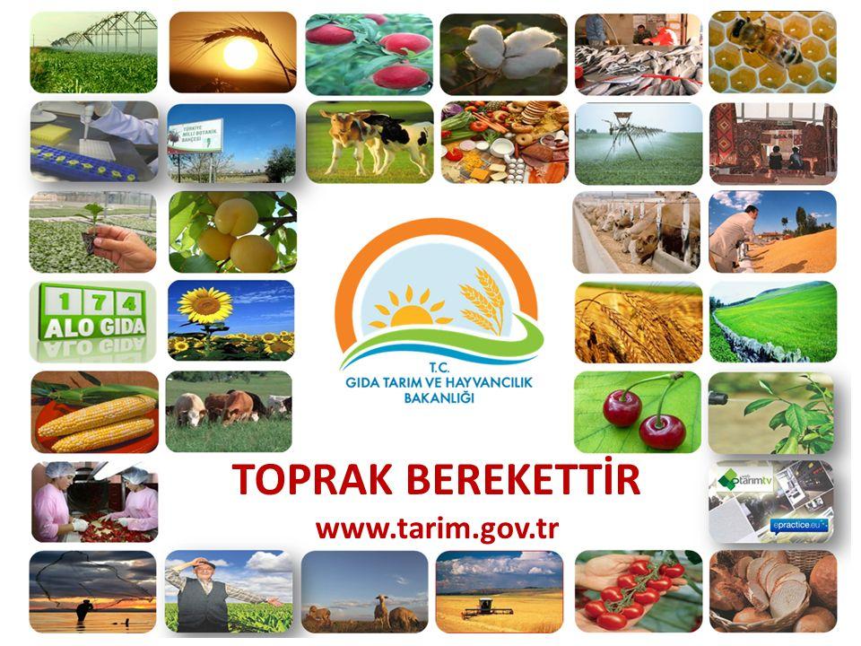 TOPRAK BEREKETTİR www.tarim.gov.tr