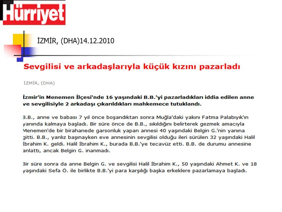İZMİR, (DHA)14.12.2010