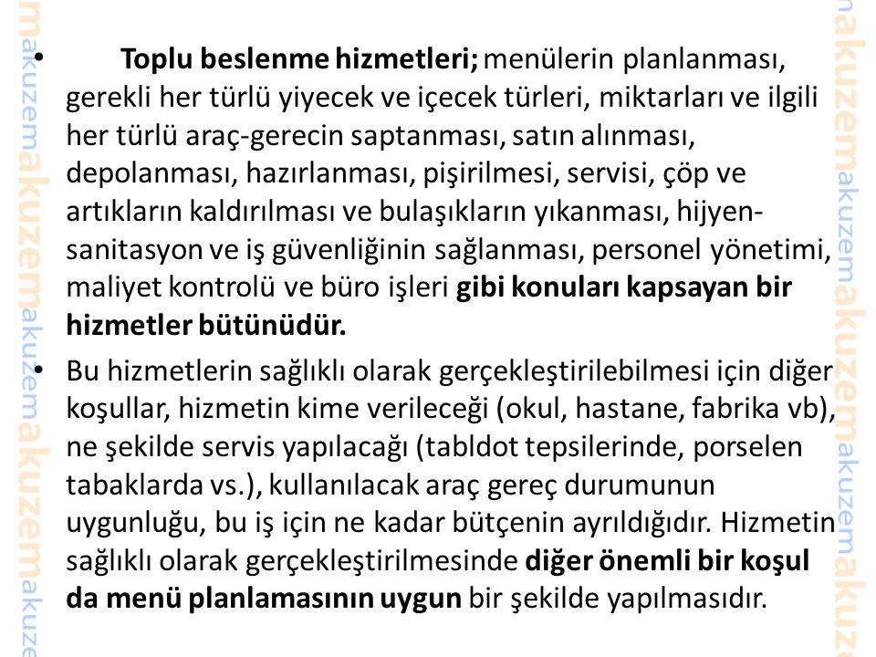 Kahvaltı Yiyecek içecek Servisi 72 milyonluk Türkiye'de her gün nüfusun yaklaşık yarısı evlerinin dışında yemek yiyor.