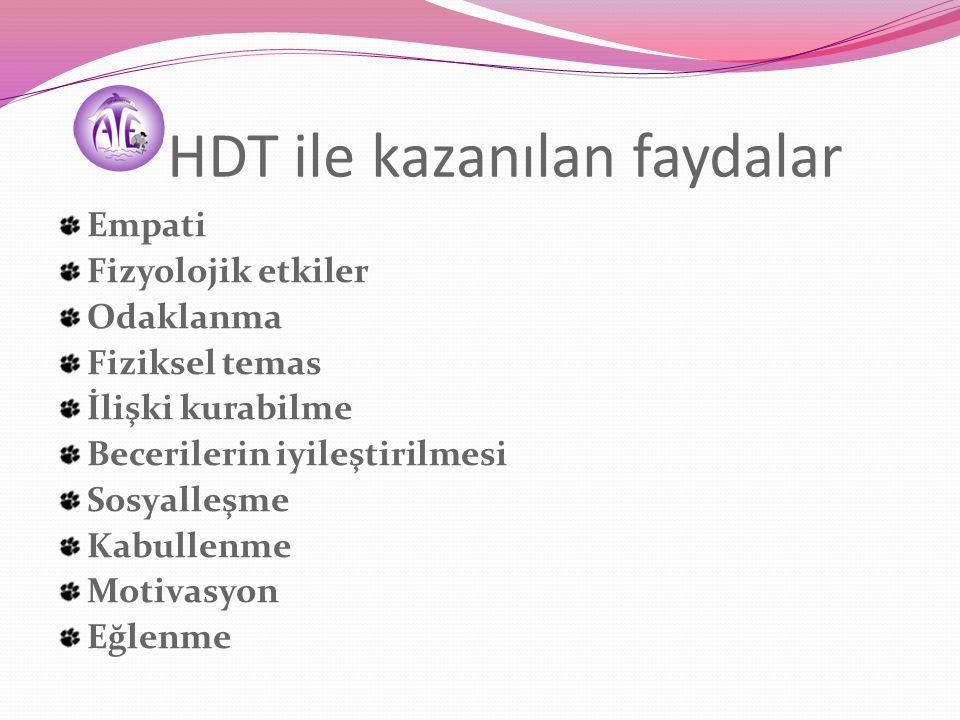 Hayvan Destekli Tedavi Modelleri Köpek-destekli (KDT) Yunus-destekli (YDT) At destekli (ADT) Akvaryum destekli
