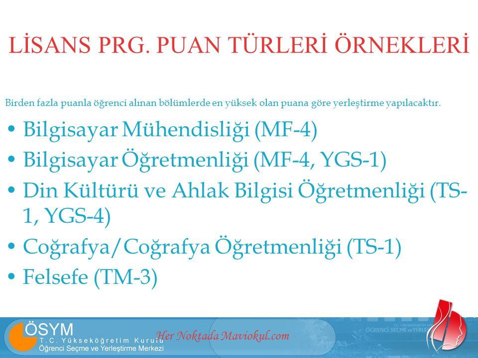 Her Noktada Maviokul.com LİSANS PRG.