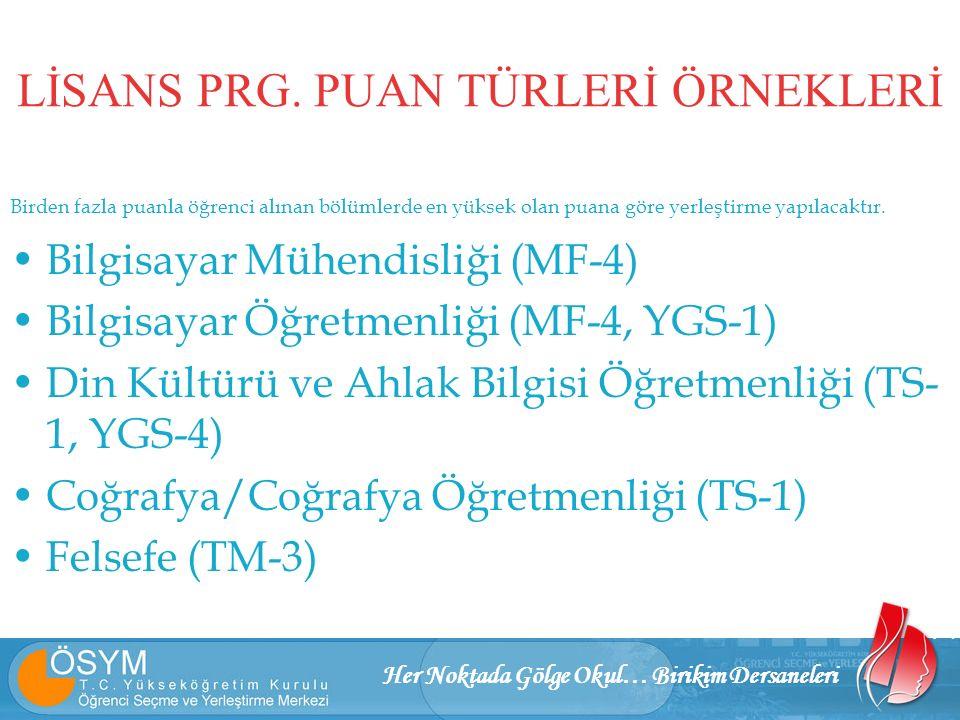 Her Noktada Gölge Okul… Birikim Dersaneleri LİSANS PRG.