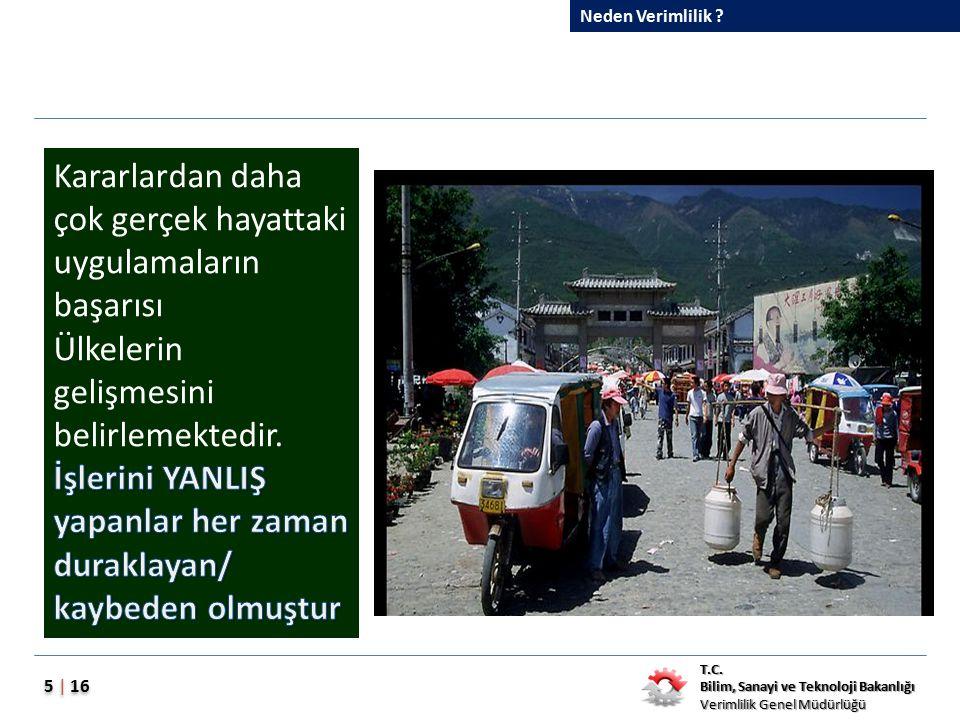 Dünya'da ve Türkiye'de Verimlilik Nedenler.Sorunlar.