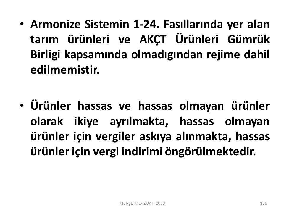 Armonize Sistemin 1-24.