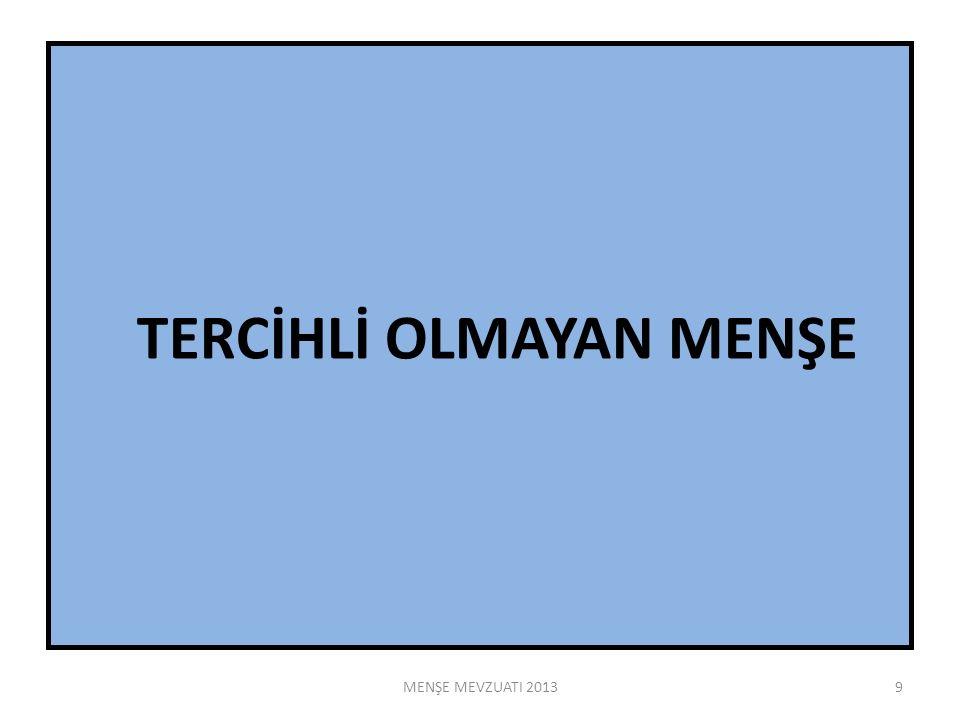 EUR.1 Türk Menşeli ürünlerin Genelleştirilmiş Tercihler sistemi kapsamında kümülasyon hükümlerinden yararlanabilmesini sağlamak üzere gümrük idareleri veya bu idarelerce yetkili kılınan kuruluşlarca usulüne uygun olarak düzenlenip gümrük idarelerince vize edilen, menşe ispat belgesidir.