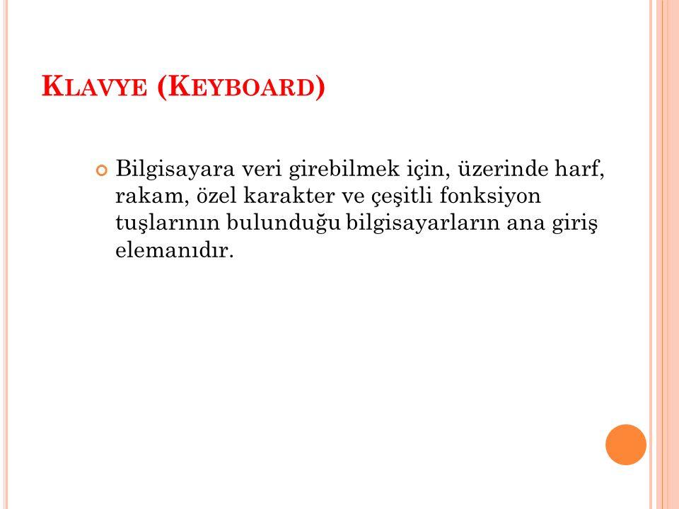 K LAVYE (K EYBOARD )