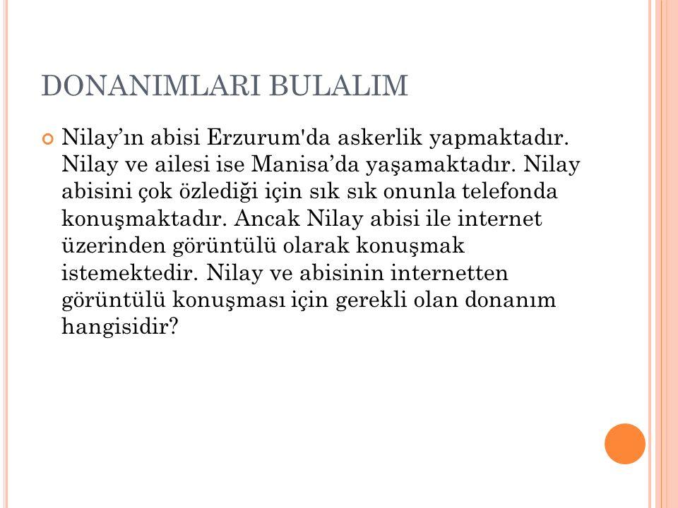 DONANIMLARI BULALIM Melis müzik dinlemeyi çok sevmektedir.