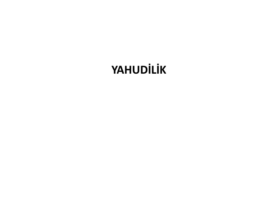 YAHUDİLİK
