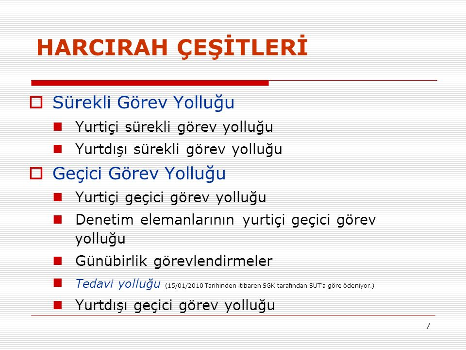Yurtiçi Sürekli Görev Yolluğu Örnek 1: Kadro derecesi 5 inci derecede bulunan ve 3 üncü dereceden aylık alan evli, eşi çalışmayan, iki çocuklu bir memur Ankara'dan İstanbul'a atanmıştır.