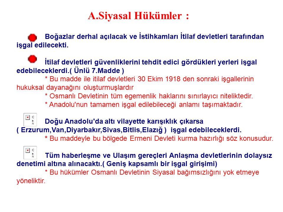 İmzalanmasının Nedenleri : Bulgaristan'ın savaştan çekilmesi.( Trakya ve İstanbul'un güvenliğini tehlikeye düşürmüştü.) Almanya ve Avusturya-Macarista