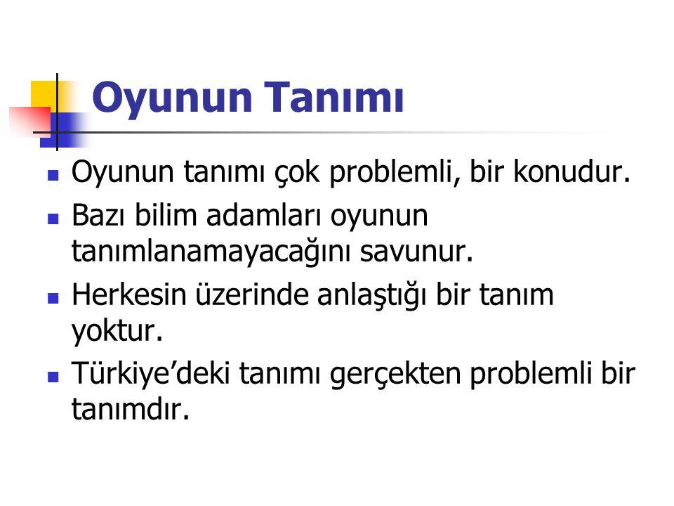 Türklerdeki oyunlarla ilgili yazılı bilgileri Dede Korkut Hikâyeleri'nde bulmakmümkündür.