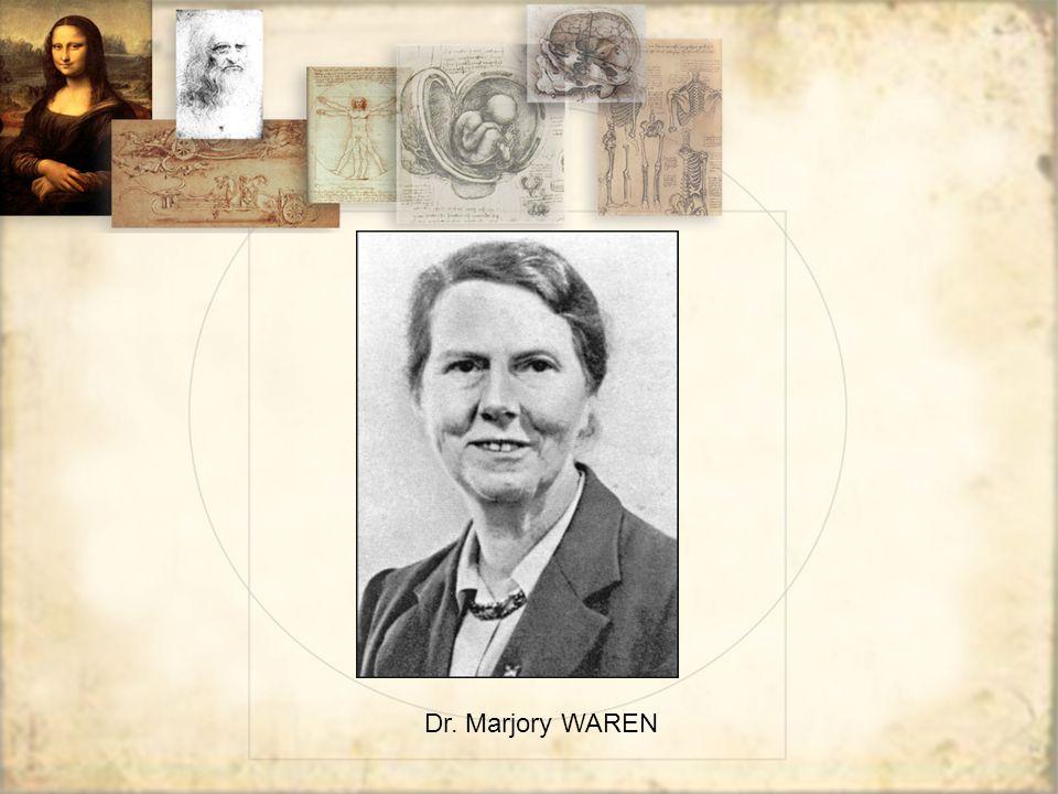 Dr. Marjory WAREN